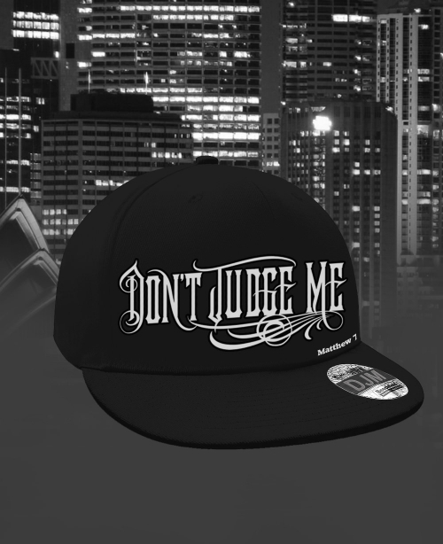 dont_judge_me_mens_MVP_logo_flat_beak_mini