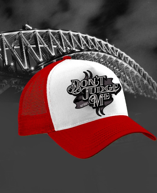 dont_judge_me_mens_monogram_trucker_cap_red_mini