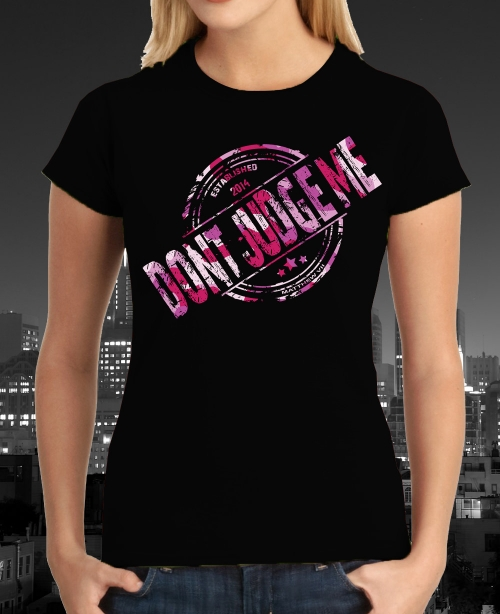 dont_judge_me_stamp_logo_tshirt_black_ladies_mini